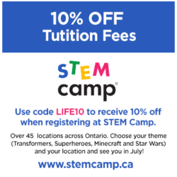 STEM Camp 10% Off