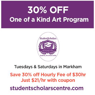 Student Scholars Save 30%