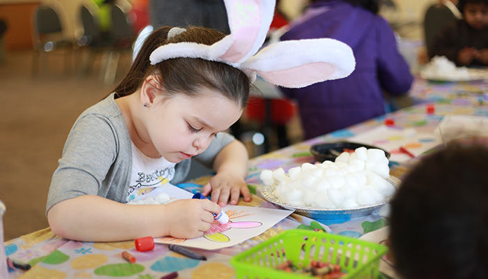 Whitchurch-Stouffville Museum Easter Crafts
