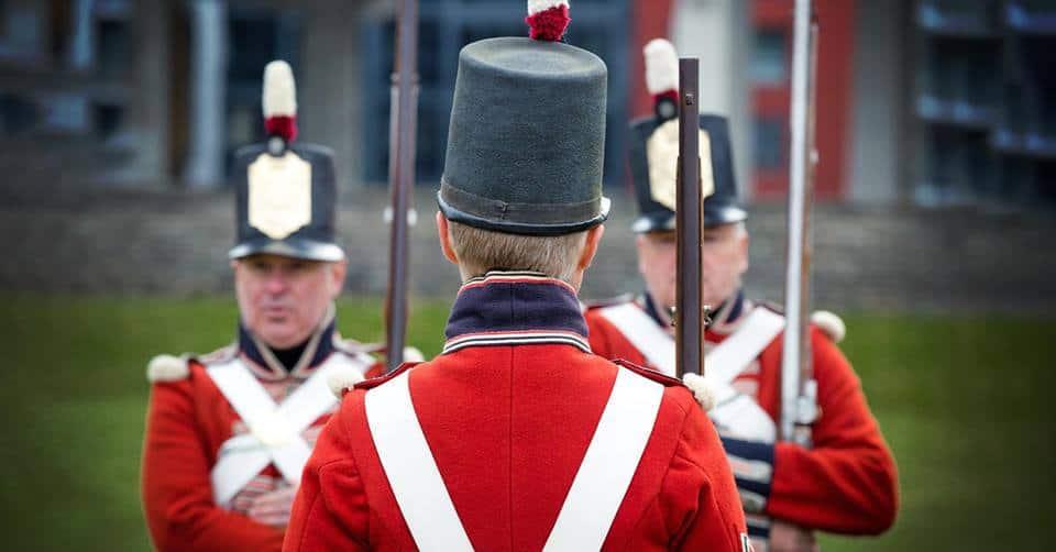 Battle of York at Fort York Toronto