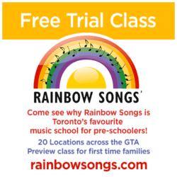 Rainbow Songs Coupon