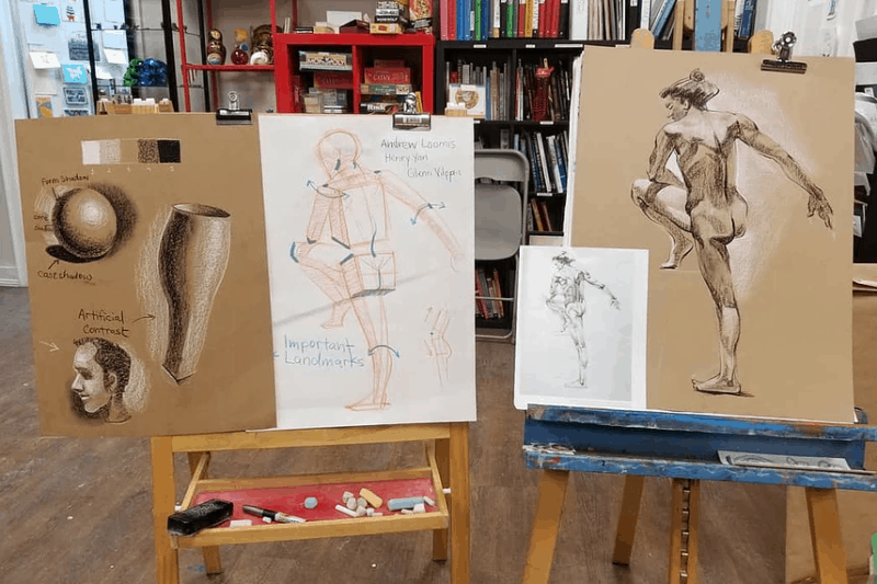 Summer Intensive: Life Drawing 2 at Winged Canvas Art Hub