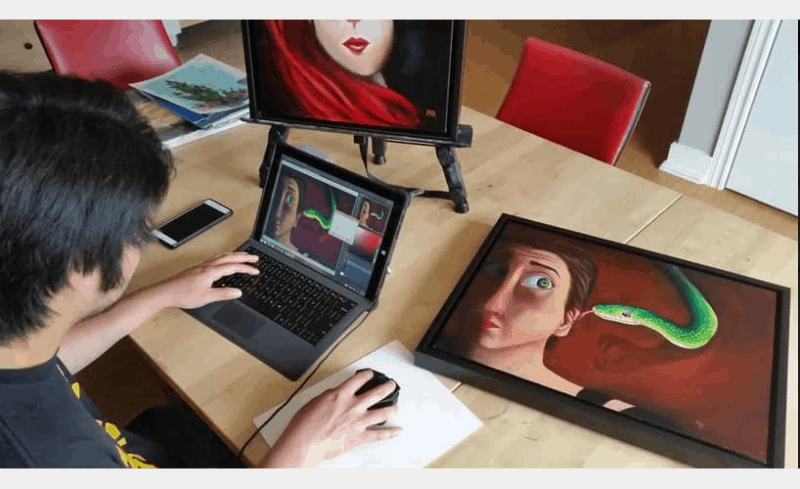 Summer Intensive: Digital Art & Design at Winged Canvas Art Hub