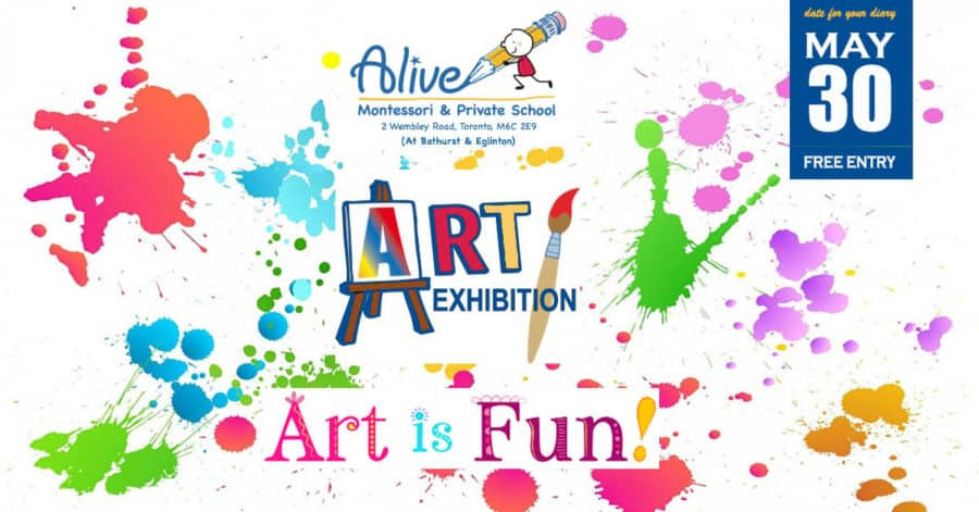 Art Exhibition at Alive