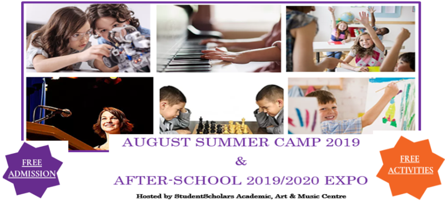 Summer Camps & AfterSchool 2019/2020 Expo By StudentScholars