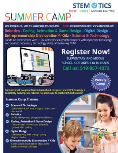 Digital Design Summer Camp for 4-8 Years
