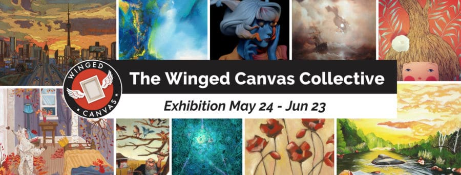 Opening Party: The Winged Canvas Collective