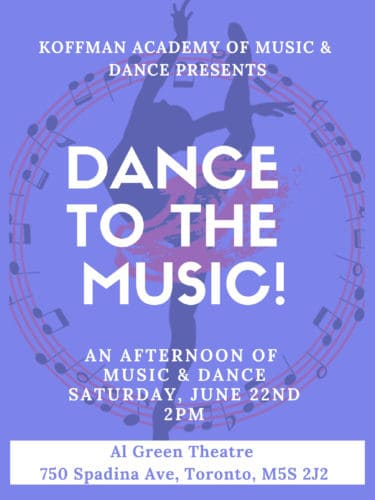 Dance to the Music - Music and Dance Showcase
