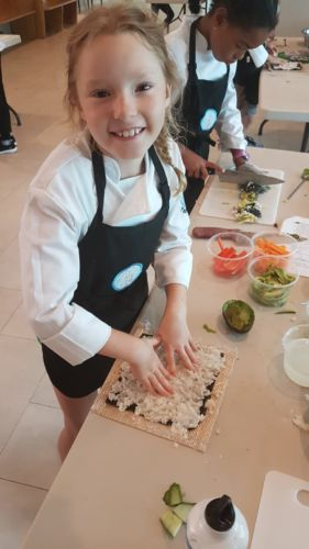 Rooks to Cooks' Free Sushi-making Workshops for kids