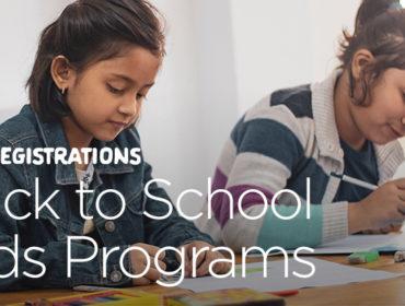 Back to School Programs