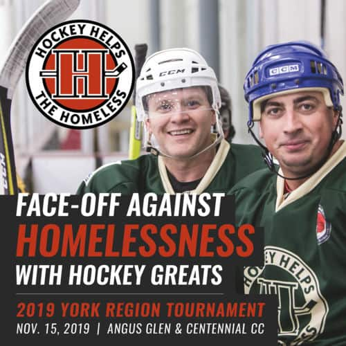 Hockey Helps the Homeless 2019 York Region Tournament