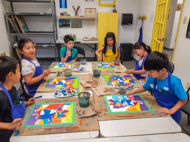 School Strike Day Camp at Art One Academy Markham