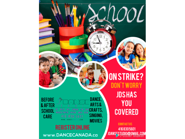 JDS School Aged Childcare During Strike