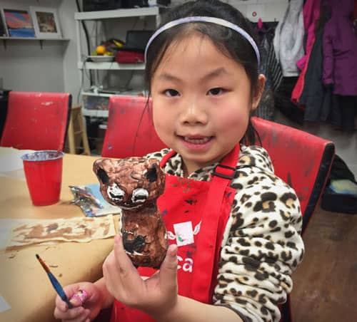 Winter Camp at Winged Canvas Art Hub