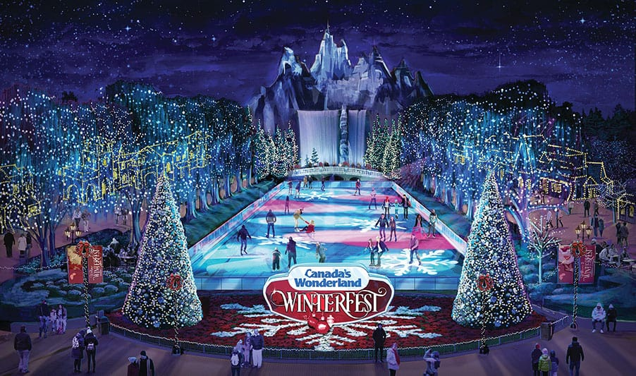 Winterfest at canadas wonderlonad