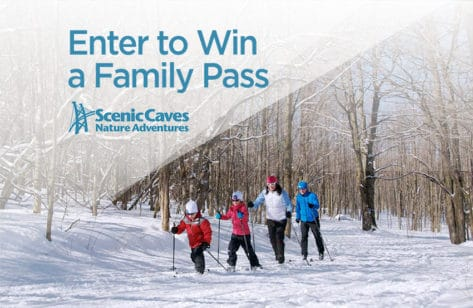Win a Family Pass to Scenic Caves