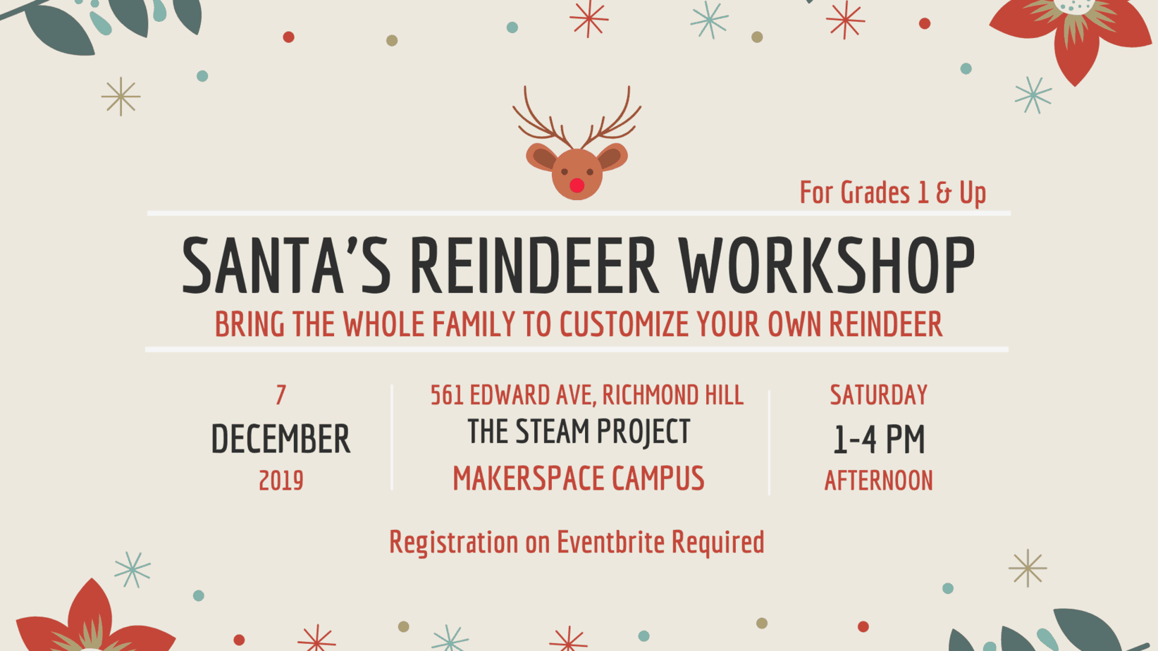 Santa's Reindeer Workshop!