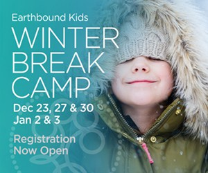 Earthbound Kids Winter Break Camps
