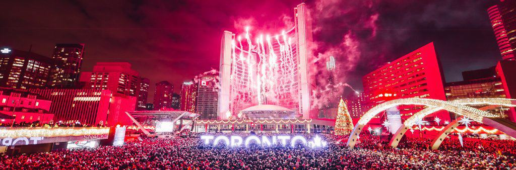 New Years Eve at Nathan Phillips Square