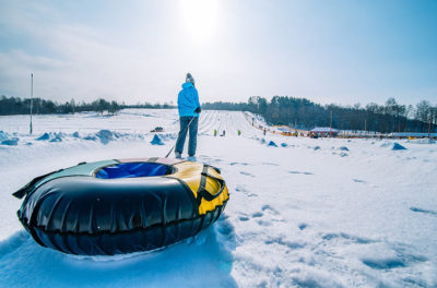 Snow Tube Hills Ontario