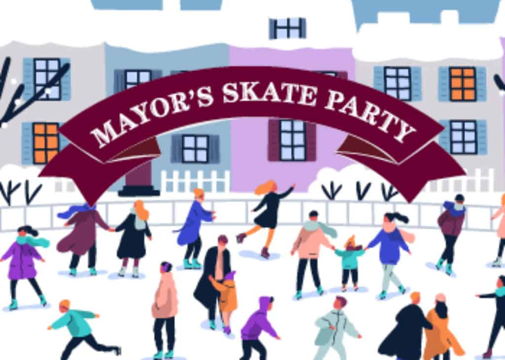 Mayors Skate Party