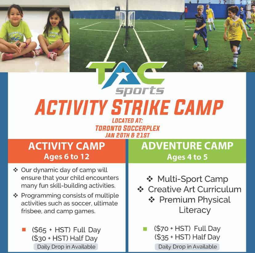 TAC Sports Strike Camp