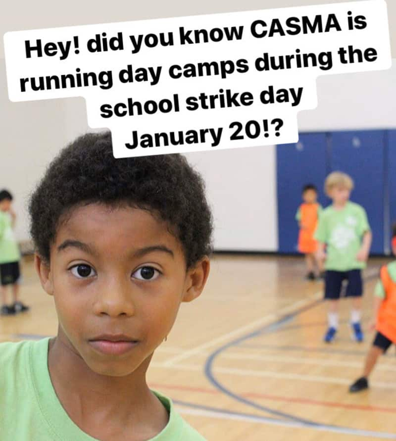 Casma Toronto Strike Camp