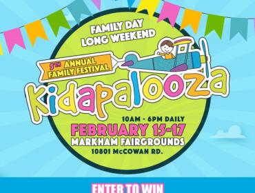 Win a Family Pass to Kidapalooza