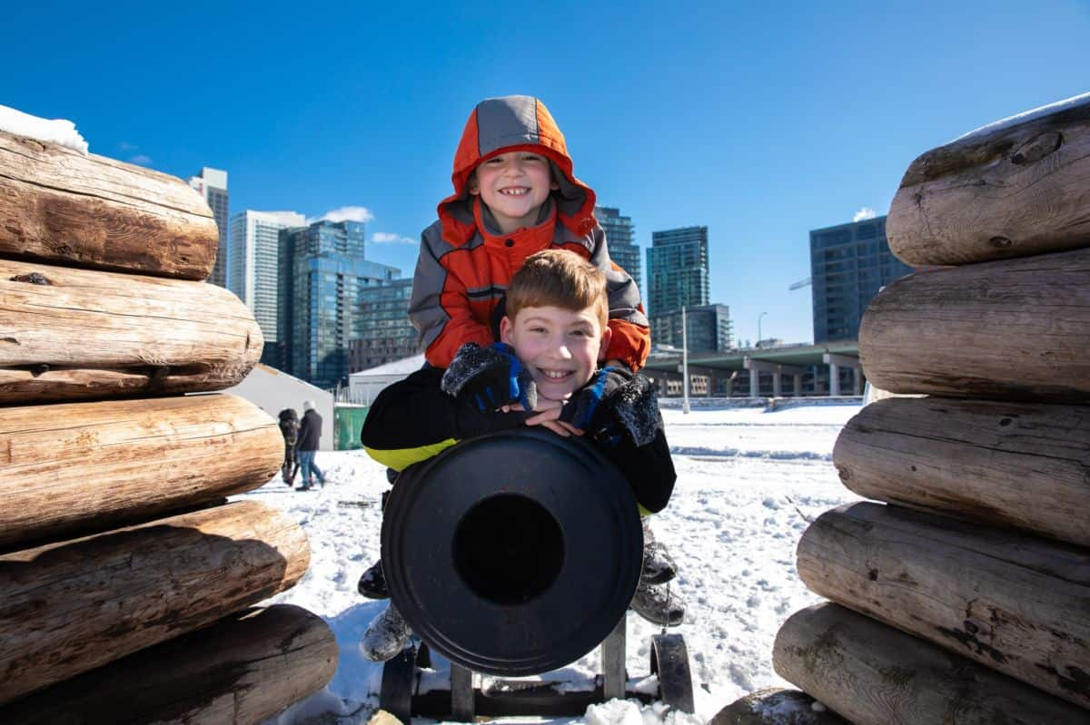 Family Day at Fort York