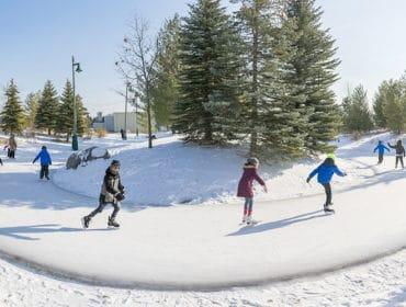 Richmond Green Skate Trail