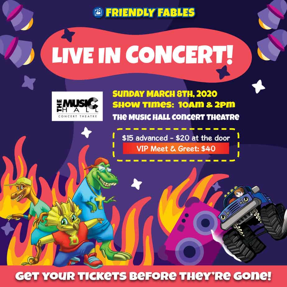 Friendly Fables Live in Concert