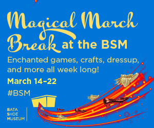March Break at the Bata Shoe Museum