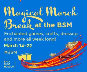 March Break at the Bata Shoe Museum