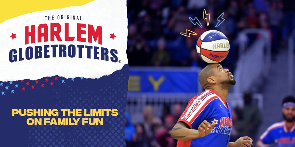 Enter to Win a Family 4-Pack to Harlem Globetrotters 2020 World Tour