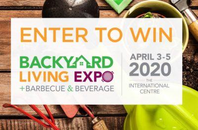 Backyard Living Expo Contest