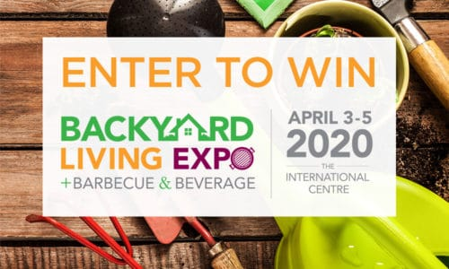 Backyard Living Expo Contest