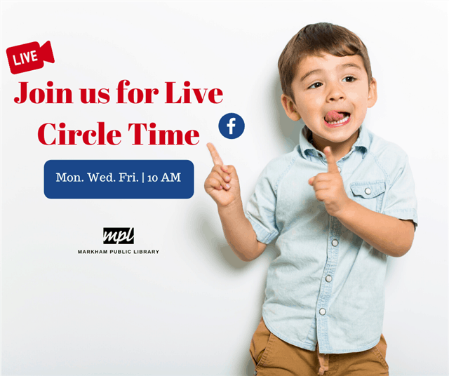 Markham Public Libraries Circle Time Live