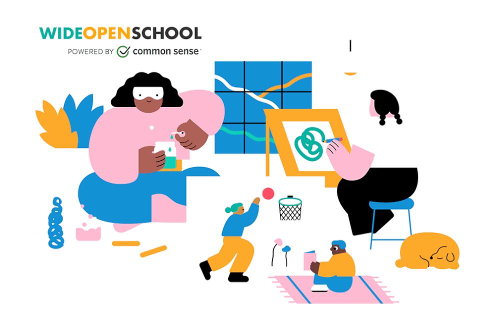 Wide Open School by Common Sense Media