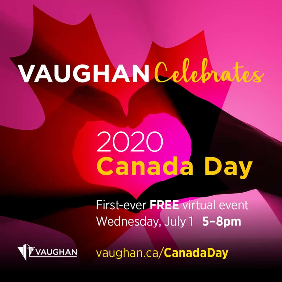 Vaughan Celebrates 2020 Virtual Canada Day