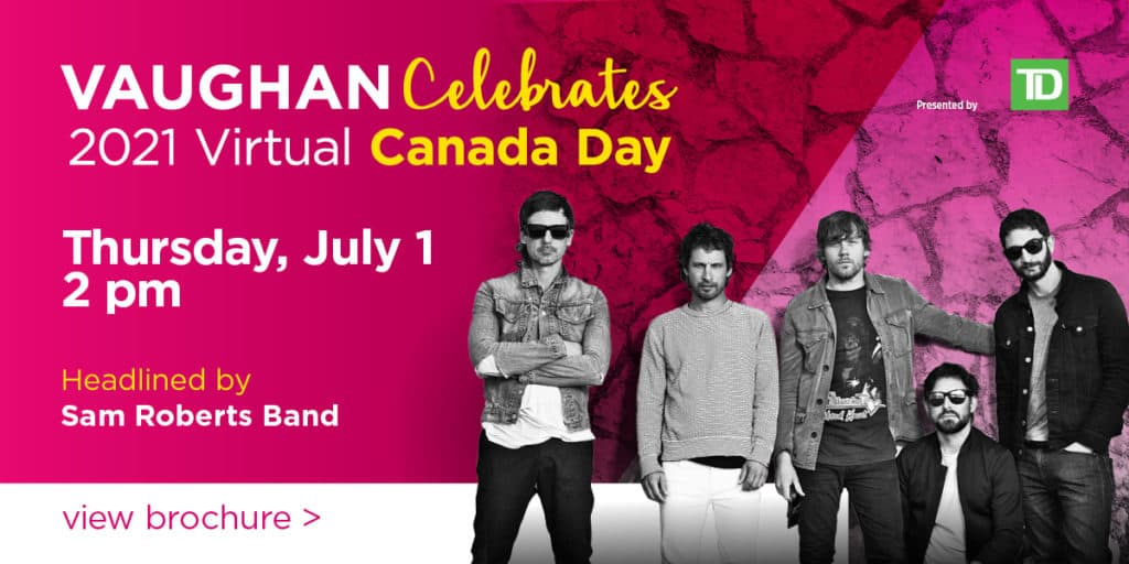 2021 Canada Day in Vaughan