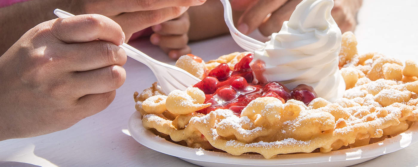 How to make Canadas Wonderland Funnel Cakes