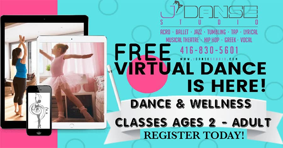 virtual danse classes