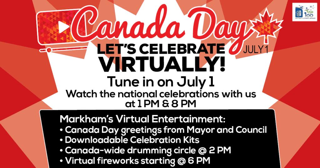 Markham Virtual Canada Day