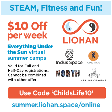 $10 OFF a Week of STEAM Camp