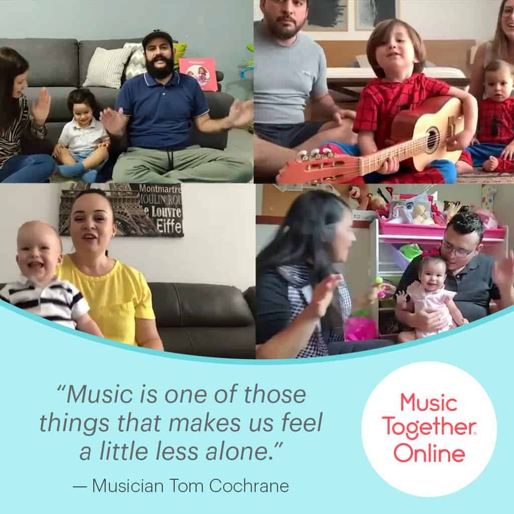 Join us this Summer for Music Together ONLINE!