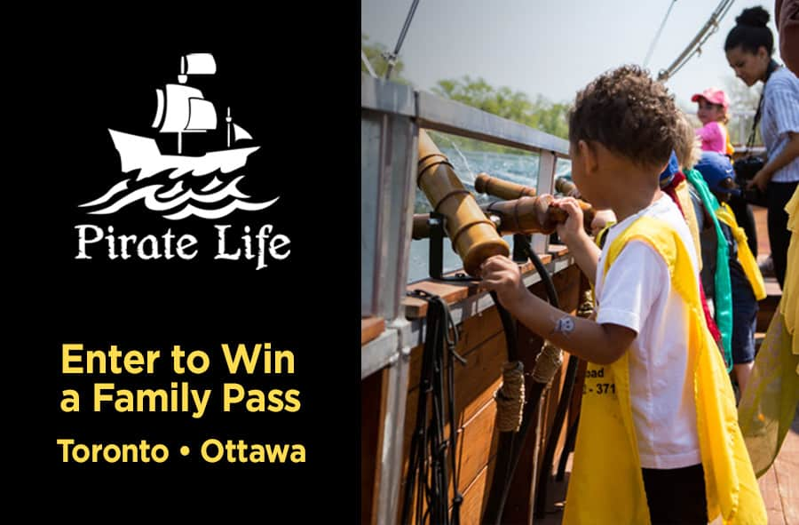 Pirate Life Contest Family Pack Giveaway
