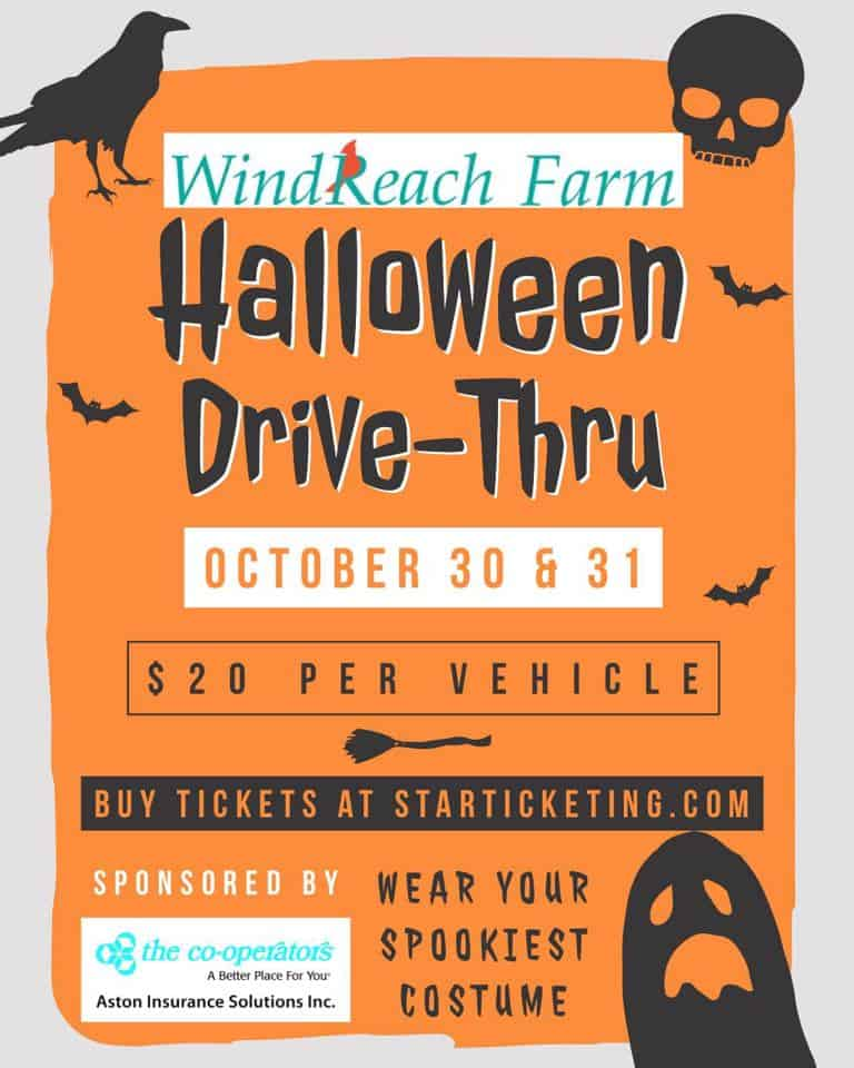 WindReach Farm Halloween Drive-Thru Experience