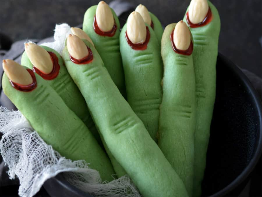 Chef Shai Spooky Zombie Finger Cookies