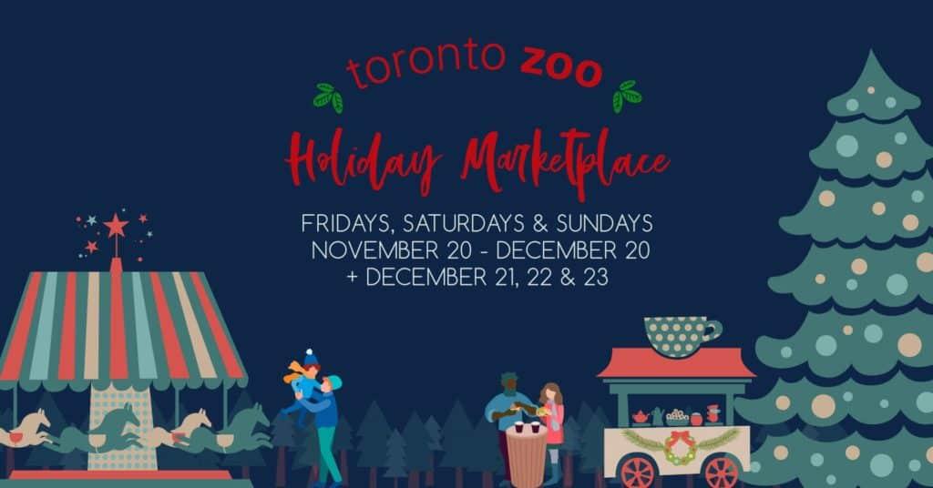 Toronto Zoo holiday marketplace