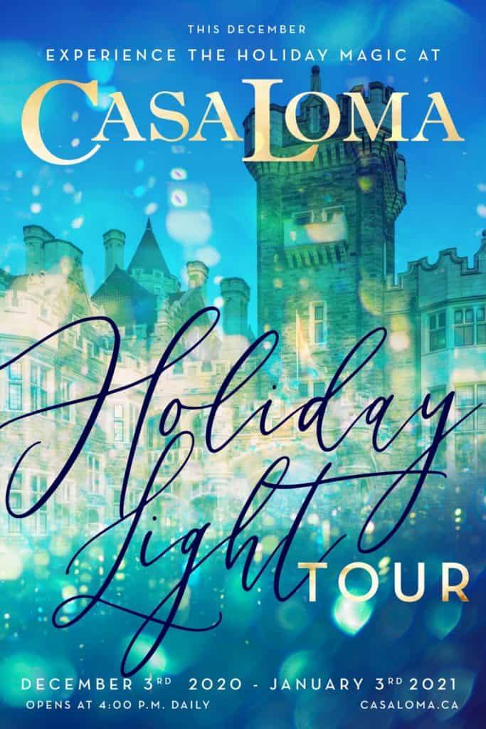 Casa Loma Holiday Light Tour
